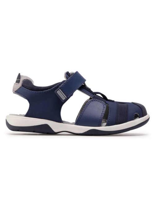 Chlapecké sandály v tmavě modrém provedení