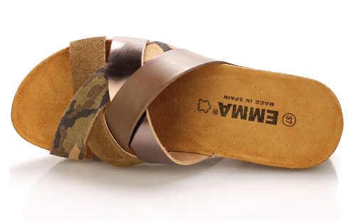 Dámské maskáčové pantofle