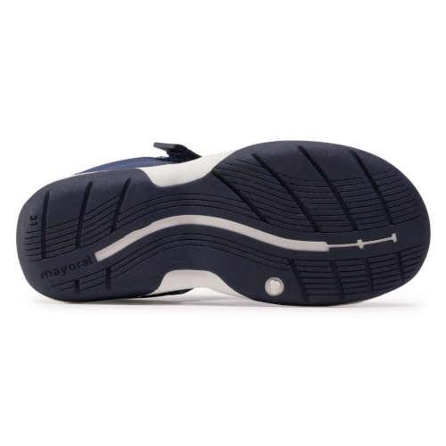 kvalitní chlapecké modré sandály
