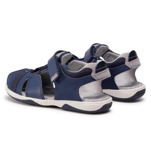 modré chlapecké letní sandály