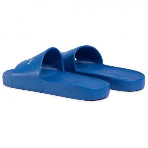modré pánské pantofle CK