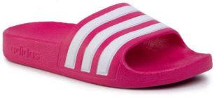Růžové dívčí nazpouváky Adidas adilette Aquak EF1749