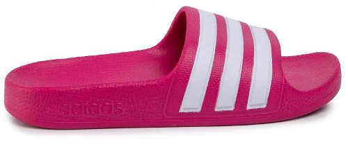 Růžové letní nazouváky Adidas pro dceru