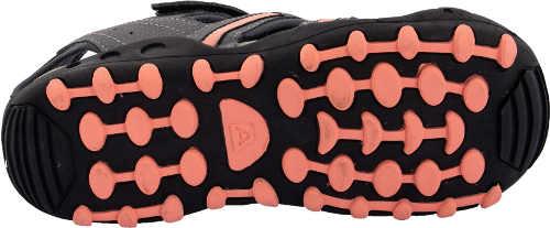 Šedo-růžové dívčí sportovní sandály Alpine pro