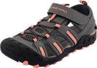 Sportovní letní dětské šedé sandály Alpine Pro OLIVIO