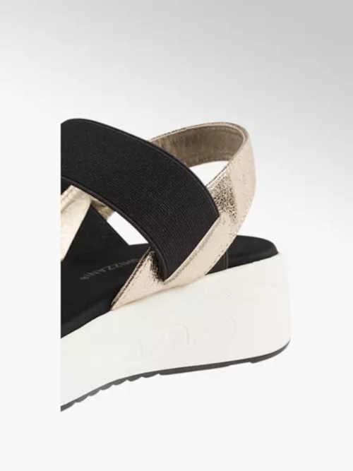 stylové dámské sandály na klínu