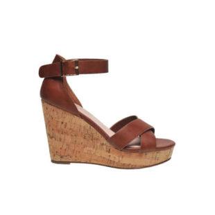 Dámské sandály na vysokém klínu