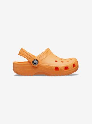 Dětské letní crocs boty oranžové
