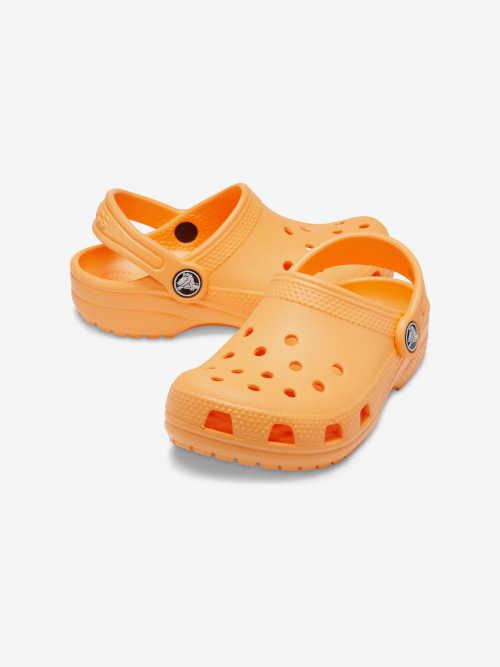 dětské oranžové letní krosky