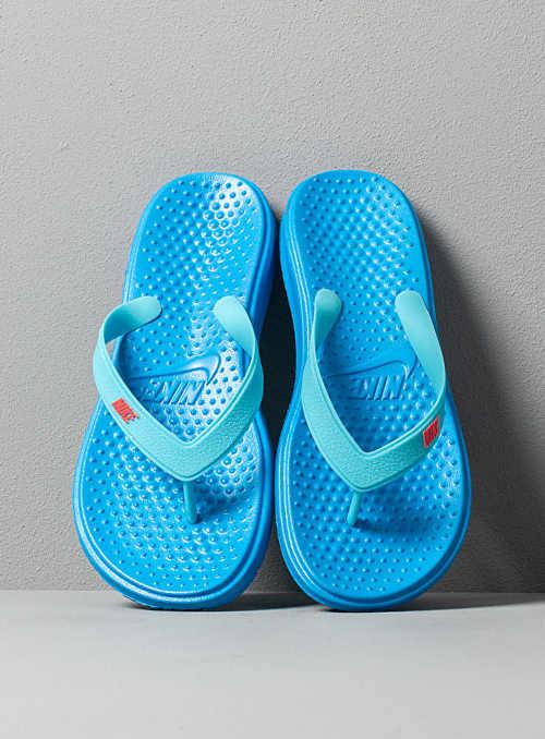 dětské žabky modré Nike