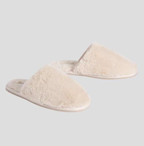 domácí zateplené pantofle