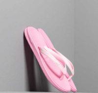 Dětské růžové gumové žabky Nike