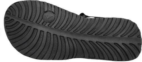 černé stylové sportovní sandály