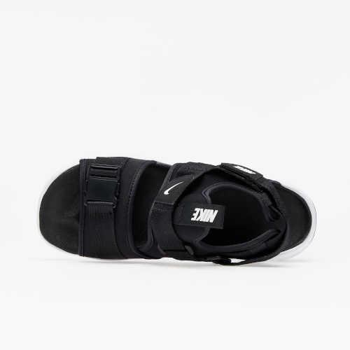 černo-bílé dámské sandály Nike