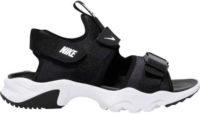 Černobílé sportovní dámské sandály Nike vhodné i do terénu