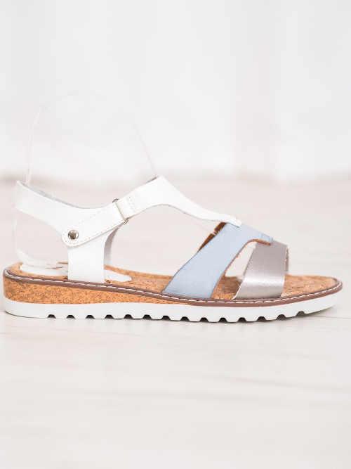 dámské letní sandály bez podpatku
