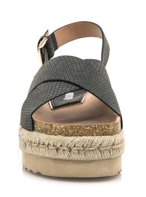 Dámské letní sandály na vysoké platformě