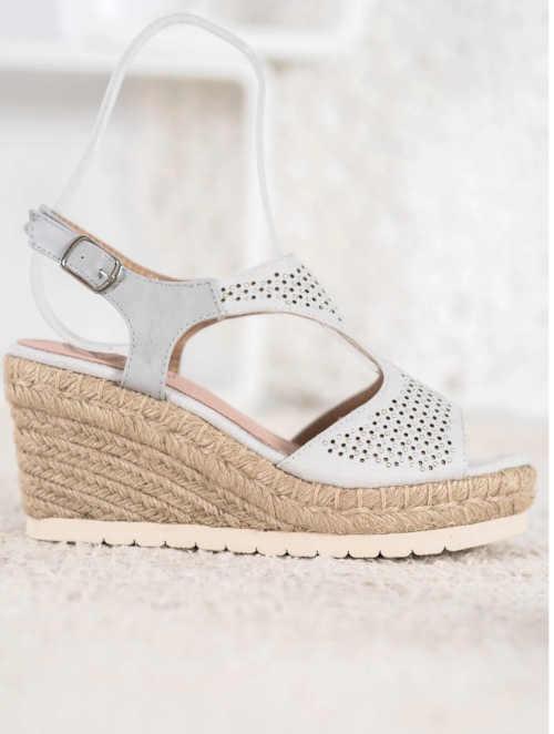 klínové letní dámské sandály