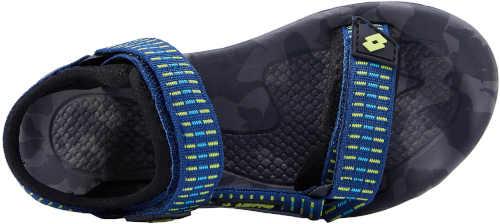 modré páskové dětské sandály