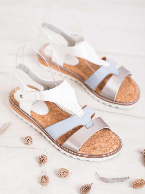 pohodlné moderní páskové sandálky
