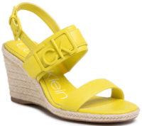 Zářivě žluté dámské espadrilky Calvin Klein