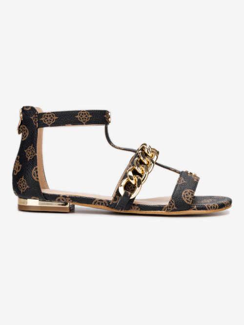 Módní dámské sandály v moderním vzoru