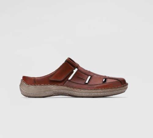 Pánské kožené pantofle v moderním designu