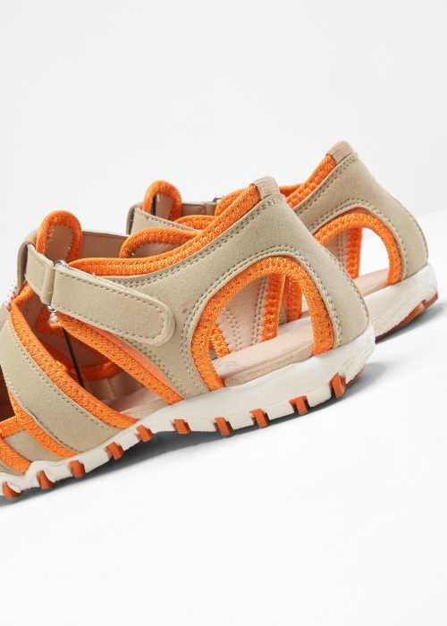 dámské komfortní páskové sandály