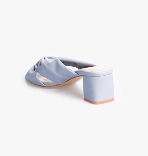 dámské pantofle na blokovém podpatku