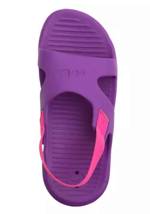 dětské kvalitní fialovo-růžové pantofle