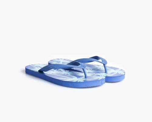 modré plážové pánské žabky