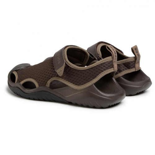 sandály Crocs hnědé pánské