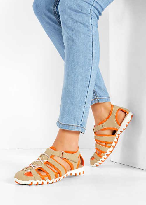 stylové letní páskové sandály