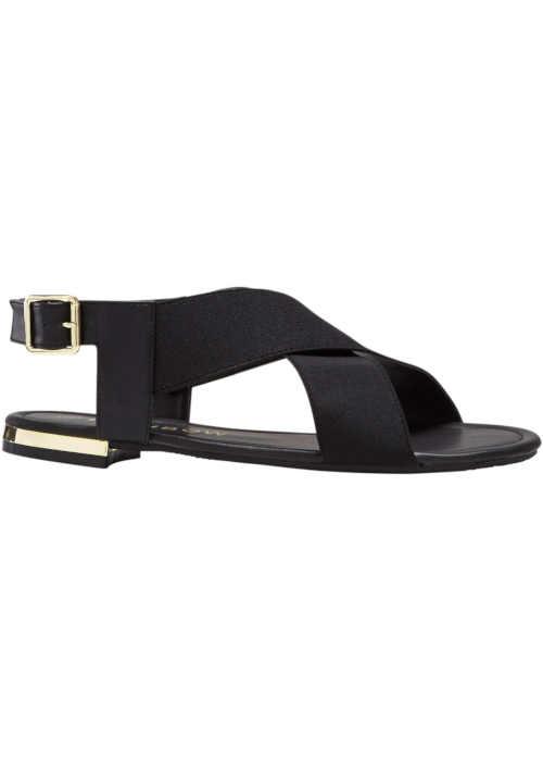 Moderní dámské letní sandály s pružnými pásky