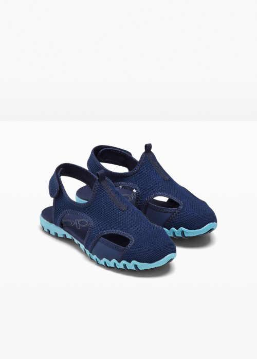 dámské modré trekové sandály