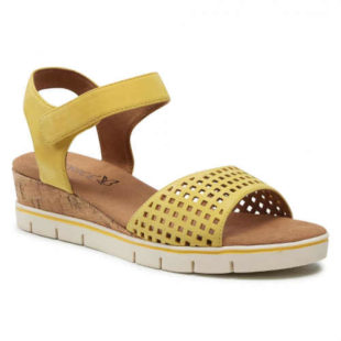 Letní žluté sandály Caprice