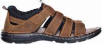 Pánské kožené páskové kvalitní sandály