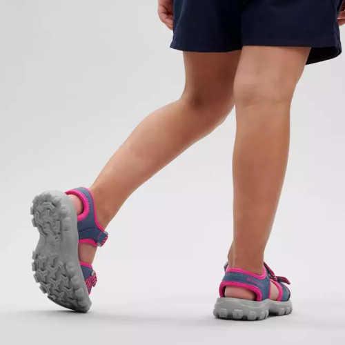 dětské modro-růžové sandály