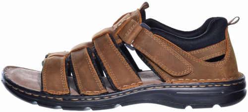 kožené moderní pánské sandály
