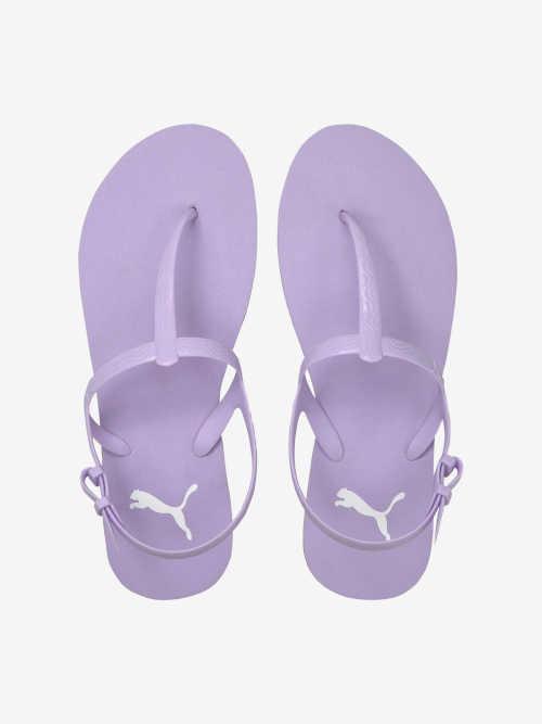 letní sandály Puma fialové