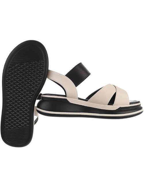 pohodlné klínové letní sandály